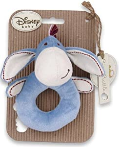 Disney's stitched Winnie the pooh Eeyore Ring Rattle