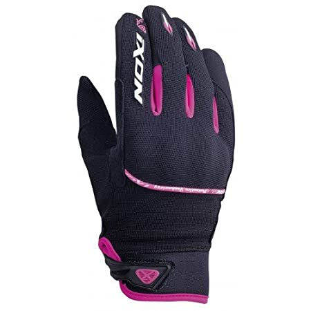 Ixon - Gants moto - IXON Rs lift lady hp Noir/blanc/fushia