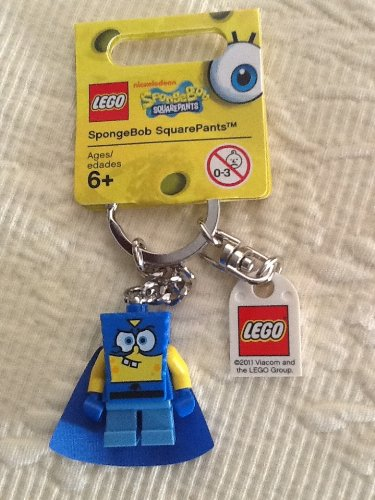 Lego SpongeBob SquarePants Superhero Keychain 853356 Amazon.com