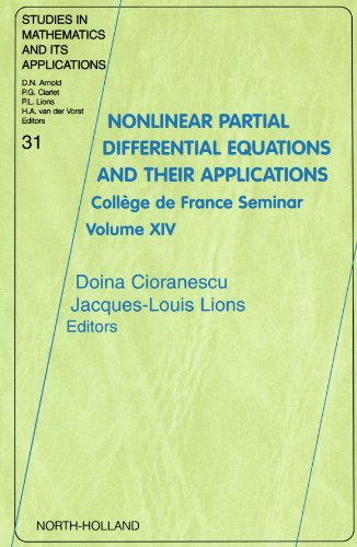 Nonlinear Partial Differential Equations and Their Applications: College de France Seminar Volume XIV