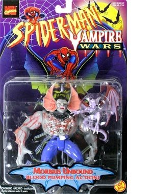 Spider-Man Vampire Wars Morbius Unbound Action Figure - 1