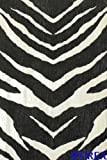 B.b. home passion 3 Becker 452709 Non-Woven Wallpaper with Black and White African Zebra Print