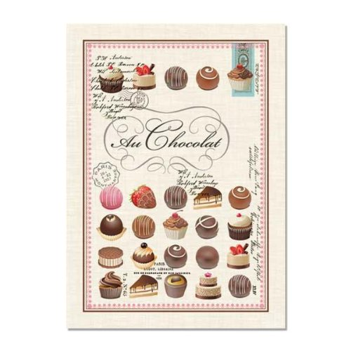 Michel Design Works Au Chocolat Kitchen Towel