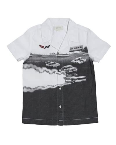Diesel Kid Camicia Junior Cluffy [Bianco]
