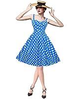 Maggie Tang Women's 1950s Vintage Rockabilly Dress: Amazon