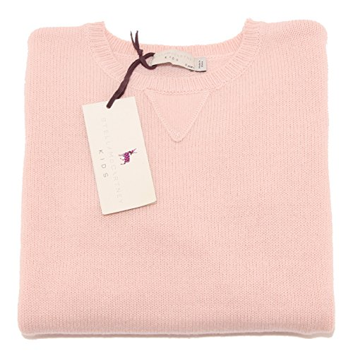 6977P maglione rosa STELLA McCARTNEY lana-cashmere sweater kids [8 YEARS]