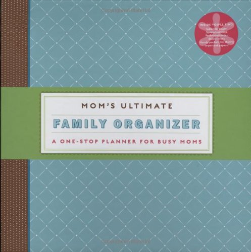 Mom's Ultimate Family Organizer: A One-Stop Planner for Busy Moms Reviews