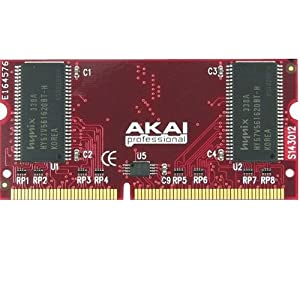 Akai Professional EXM 128 - 128 MB Memory Upgrade For MPC500, MPC1000, MPC2500 Drum Machines
