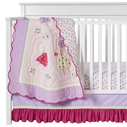 Fairy Land 3 pc Crib Set