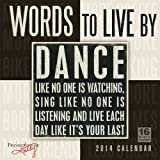 Words to Live By 2014 Wall (calendar)