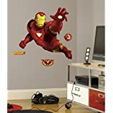 RoomMates RMK1486GM Iron Man Peel and Stick Giant Wall Decal