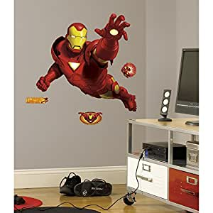 RoomMates Ironman Giant Repositionable Marvel Wall Stickers