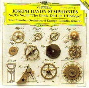 Haydn: Symphonies 93 & 101: The Clock/Die Uhr/L'Horloge