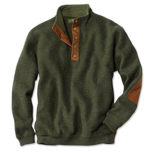 orvis-boiled-wool-snap-front-pullover-moss-large