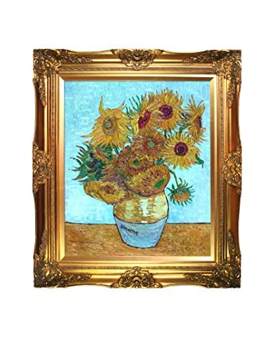 Vincent Van Gogh Sunflowers Hand-Painted Reproduction