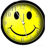 Glow In the Dark Wall Clock - Smiley Face