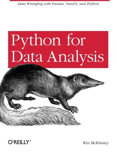Python for Data Analysis: Data Wrangling with Pandas, NumPy, and IPython PDF