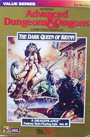 The Dark Queen of Krynn (Mac)