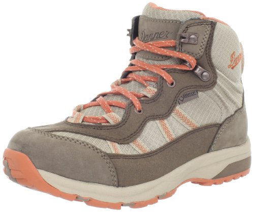 Danner Women's St Helens 4.5-Inch Hiking Boot, Brown/Orange