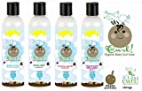 Curls It's a Curl Organic Baby Curl Care Set 4pcs- Tearless Shampoo +Conditioner+Moisturizer+Leave In
