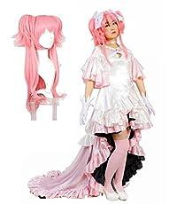 MilicaBooks 魔法少女まどか マギカ アルティメットまどか 女神まどか 鹿目まどか Mサイズ ウィッグ付き 9点セット コスプレ 衣装
