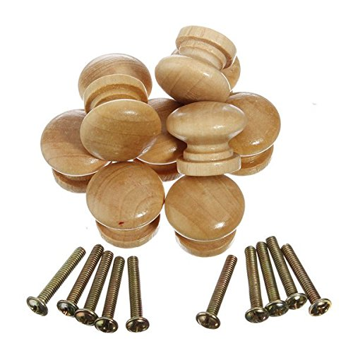 10pcs Wooden Cabinet Drawer Knob (Pastel Drawer Knobs compare prices)