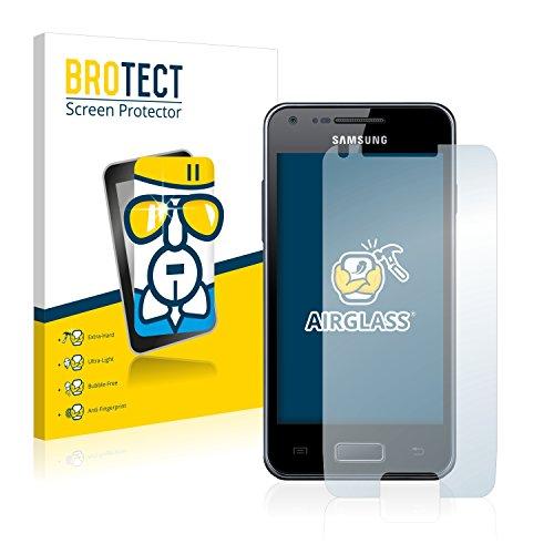 BROTECT AirGlass Pellicola Vetro Flessibile per Samsung Galaxy S Advance Proteggi Schermo, Vetro Protettivo - Extra-Resistente, Ultra-Leggero