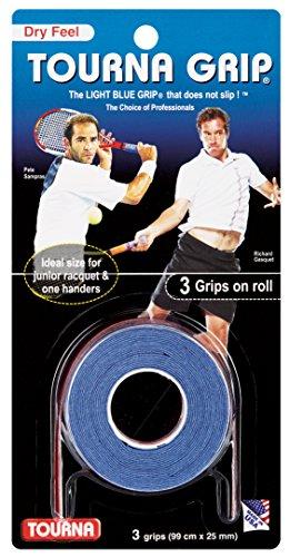Unique Overgrip Tourna Grip Standard 3er, Blau, 0306060121300000