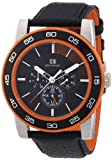 Boss Orange Men's Quartz Watch Multifunktion 1512860 with Leather Strap