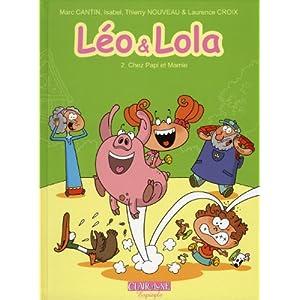 Léo et Lola, Tome 2 : Chez papi et mamie