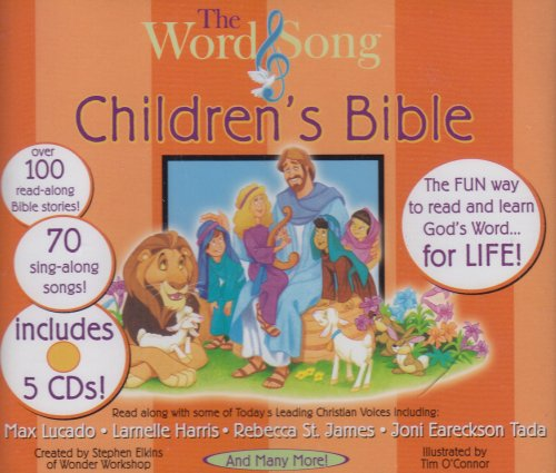 The Word & Song Children's Bible (Book not included)