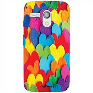 Design Worlds - Motorola Moto G Designer Back Cover Case - Multicolor Phone...