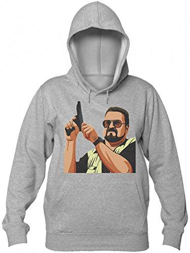 Walter Sobchak From Big Lebowski Women's Hooded Sweatshirt Large