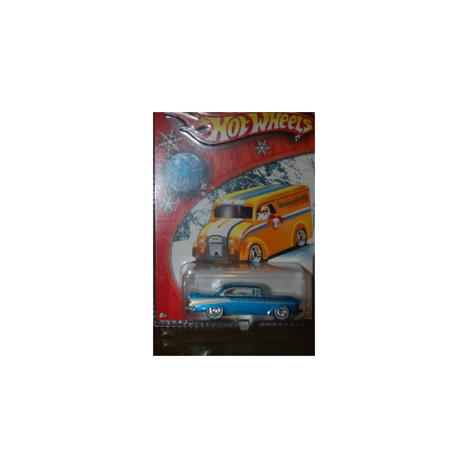 2006 HOT WHEELS LIMITED EDITION HOLIDAY RODS GOLD 57 CHEVY BEL AIR #3 OF 5