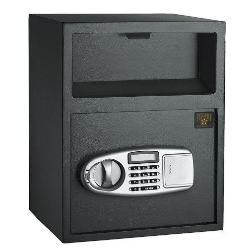 Paragon 7925 Digital Depository Front Load Cash Vault Drop lock and Safe Box