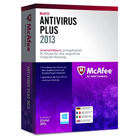 McAfee AntiVirus Plus 2013 - 3 User