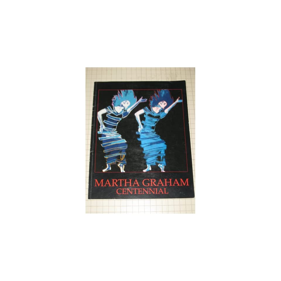 martha graham centennial the first hundred years andy warhol cover art