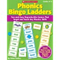 Phonics Bingo Ladders, Grades K-2: Fun-And-Easy Reproducible Games That Target and Teach Key Phonics Skills