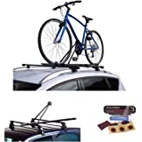 Raleigh CRUISER Cycle Carrier Roof Mount Upright Bicycle Bike Rack for Car Roof Bars