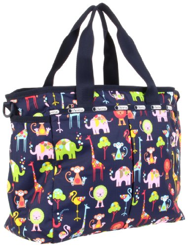 LeSportsac Wo Ryan 7532P Diaper Bag,Zoo Cute,One Size