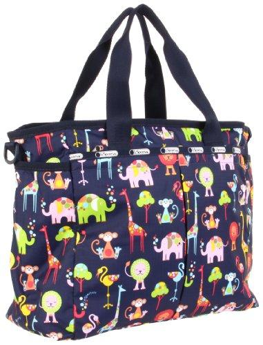 LeSportsac Wo Ryan 7532P Diaper Bag,Zoo Cute,One Size