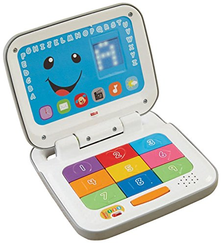 Fisher-Price Laugh And Learn Smart Stages Laptop, Grey/White