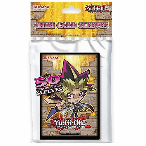 Konami Yu-Gi-Oh!-Chibi Card Sleeves 2016 (50 pezzi)