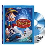 Pinocchio (Two-Disc 70th Anniversary Platinum Edition Blu-ray/DVD Combo + BD Live) [Blu-ray] ~ Mel Blanc