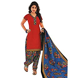 Amazing designs in unstitched Cotton chudidhar material