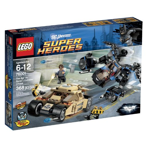 LEGO Super Heroes Tumbler Chase 76001 at Gotham City Store