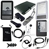 DigitalsOnDemand 14-Item Accessory Bundle for Amazon Kindle 3 3rd Gen Wireless Reading Device (6