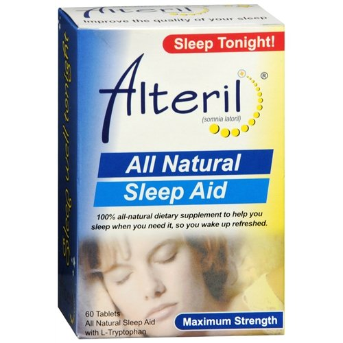 Alteril - Sleep Aid All Natural - 60 Tablets Review