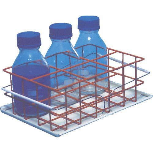 サンワカケン 病室・診療室用品 ボトルトレー耐震用 ボトルトレー40-24