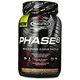 MuscleTech Phase 8 Peanut Butter Chocolate Dietary Supplement, 2 Pound